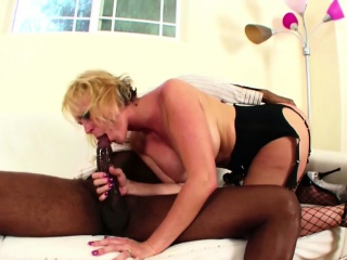 Malicious Uncultured Dick fucks german Milf in sexy lingerie