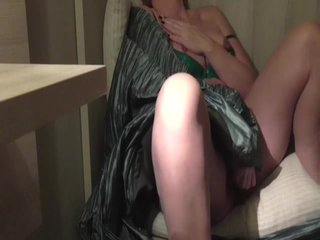 Close by nearly cam caught MILF masturbating