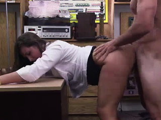 Amateur CFNM MILF fucked hard by big load of shit guy for nobody prove false cash