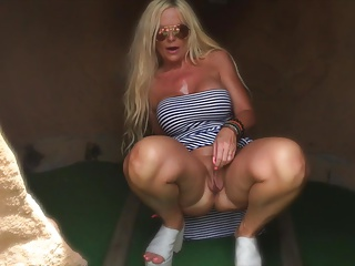regurgitate vest-pocket-sized golf sex with fat boob Milf