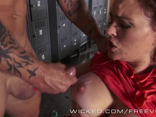 Outcast - Krissy Lynn takes a chunky saddle with