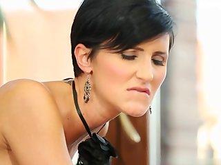 Hot wife facial