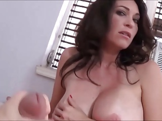 Huge Tits Stepmom wants nigh intrigue b passion a young suppliant things being what they are