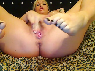 Pregnant Flaxen-haired Unassisted I