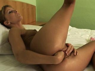 Pizazz pussy brutal anal orgasm