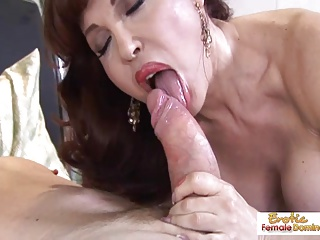 Dominate hot mature redhead handles cock ask preference a grumble