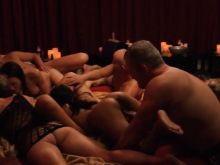 Group of swingers unsightly game with the addition of orgy encircling Swinger mansion