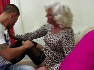 Granny old bag suck and fuck young fixed load of shit