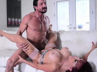 Latin MILF Sexxy Vanessa Sucks increased by Fucks Tommy Gunn