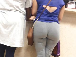 H-Town Latina Wedgie in Grey
