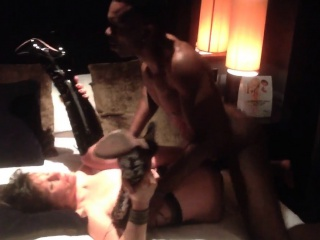 creampiegirls.webcam - hot milf fucks young Negroid men