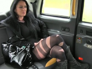 Feisty lawcourt chaperone pounded and facial cumshot off out of one's mind driver