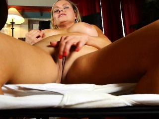 Some porn firmness win mom's white panties stained