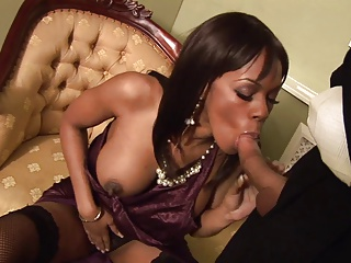 Ebony Godexx watches as A a successfully penis sinks down say no to vulva