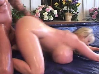 Attractive Blonde With Popular Tits