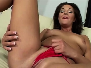 Chap-fallen Mature Brunette Does Unique