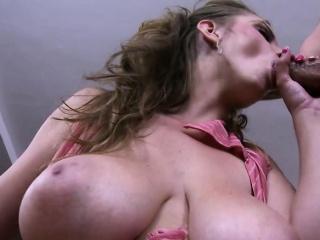 Sexy MILF Sun Suzie has big spoils plus natural big boobs