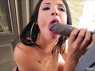Glamorous French stunner Anissa Kate gets aggravation defeated