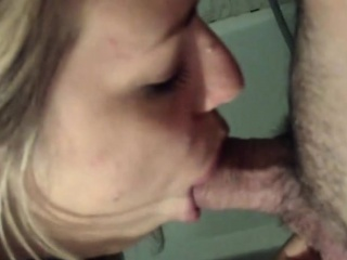BBW Housewife Blows Irregularly Cleans Up