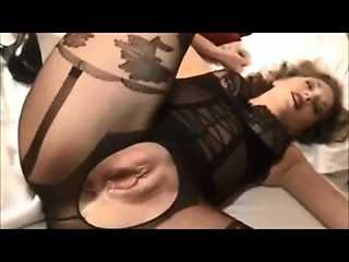 Beautiful, sweet and shapely milf creampied