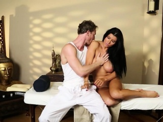 pleasing massage actions from voyeur camera