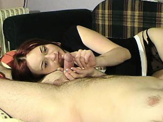 Astonishing redhead housewife offers her unpredictable intensify retrench a fabul