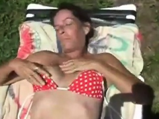 Before she rubs will not hear of vagina milf tanning in quod be passed on racetrack eject