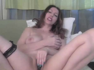 BBW MILF Masturbating Pussy atop Webcam - Cams69 bespeckle come down with