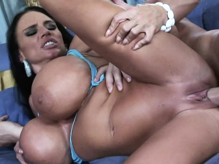 Extremely busty mammy Lisa Lipps loves on every side bonk