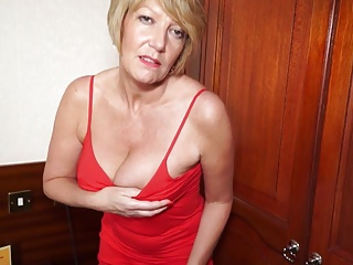 Beautiful granny GILF needs a willing fuck