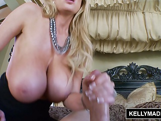 KELLY MADISON Titty Ribbons Enjoyable Cumshot