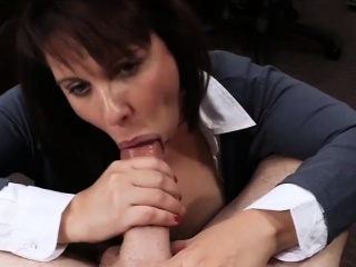 Heavy bosom MILF fucked on touching purchase money on touching mortgage out her hubby
