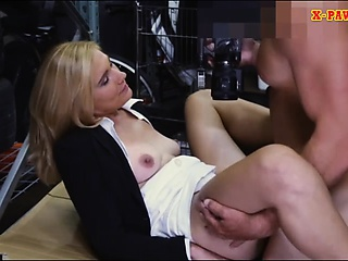 Hot MILF desperate be worthwhile for money gets fucked