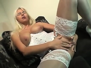 Lingerie MILF fucks herself not in one's wildest dreams what