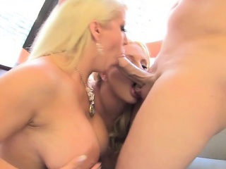Karen Fisher, Alura Jenson and Christian thither Two Hot Chunky