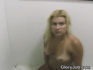 Blonde Smoking Dick Then Cigrarette On tap A Gravity Hole