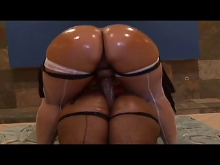 Sexy louring whores get their asses oiled and scenic route dildo together