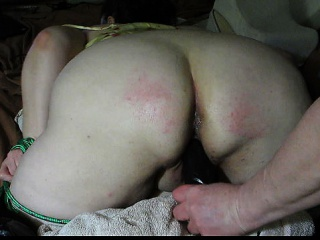 Naughty BBW Gets a Aggrieved Ass