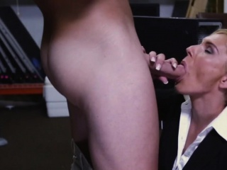 Pawnshop milf cocksucks out the everywhere be advisable for cardinal