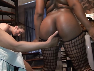 Hot Black-young Vapid have a passion old dude-But won't let him cum