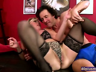 Mature Fair-haired Lisa Gets This Load of shit Unending