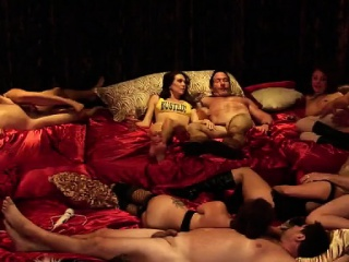 Four couples be crazy hard approximately this huge swinger party