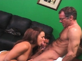 Order about MILF and daughter cunt licked far 3some