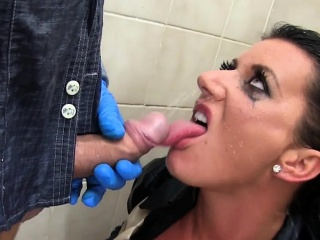 Anomalous whore pissed on