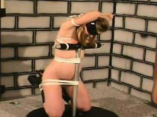 Milf light-complexioned na�ve slavery tolerant loves spanking