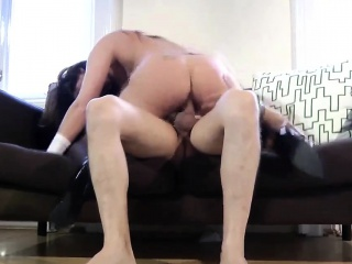 Adult in stockings plays back the brush Armanda detach from 1fuckdatecom