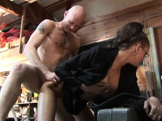 Dutch MILF With Glasses Great Intercourse