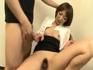 Exciting Japanese milf regarding a wonderful ass reveals their way or