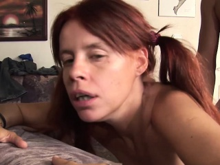 Hot MILF enjoys pissing and shagging roughly threesome