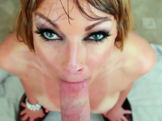 Milf gets pov facialized
